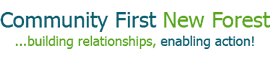 Community First New Forest logo